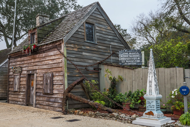 The Oldest Wood School House