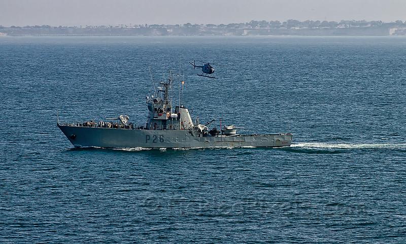 Spanish Navy's P26 Medas near Cadiz