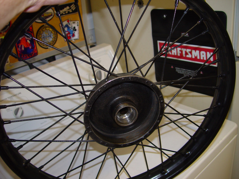 Front wheel right side
