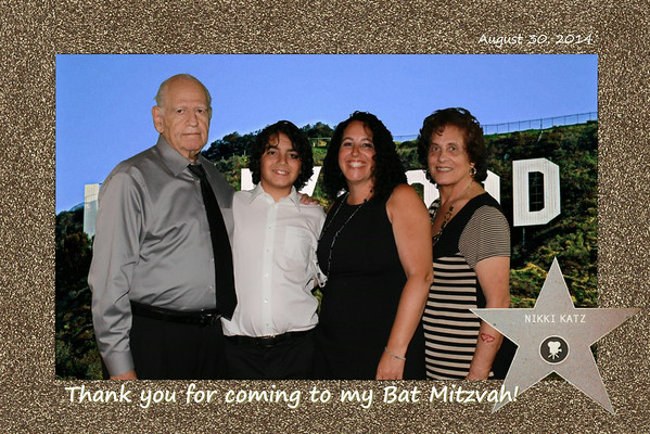 Nikki K Bat Mitzvah Green Screen