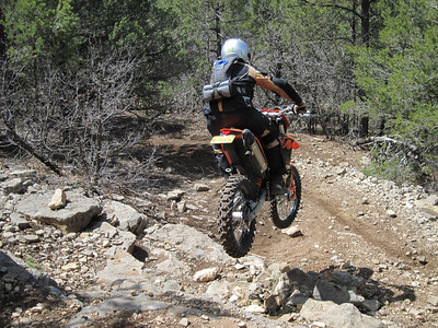 Cedro Peak area ST Ride  4-18-10