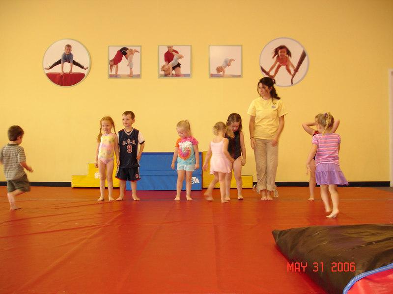 May 31st 2006 At the Gym