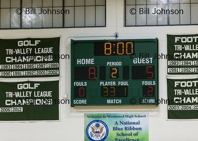 G JV1 Basketball Ashland v Westwood 1-16-15