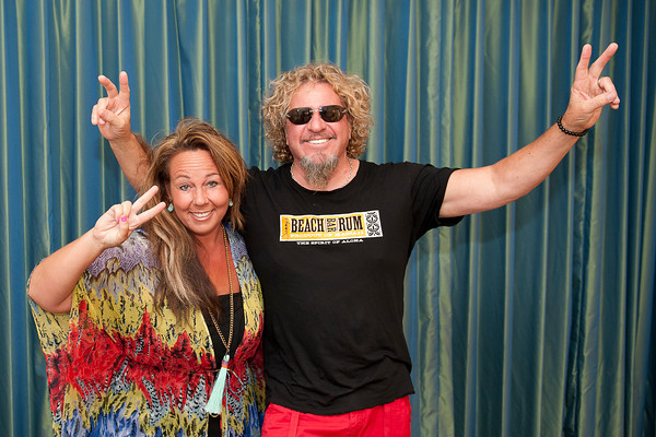 Sammy Hagar Up Close and Personal - World Premiere