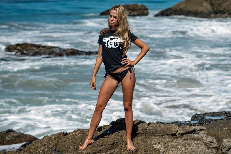Nikon D800 Photos of Pretty Blonde Bikini Swimsuit Model Goddess