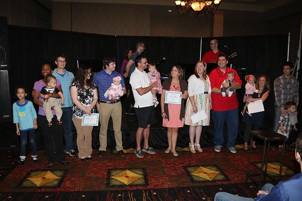 Grand Baby Dedication 10-26-2014