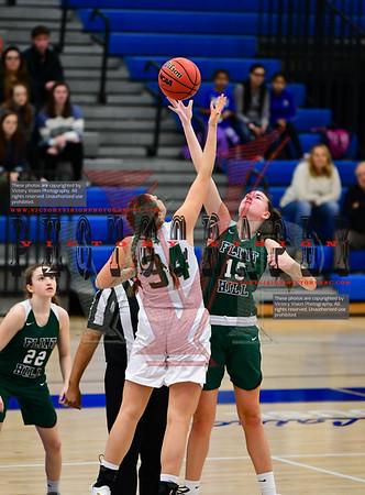 Langley vs. Flint Hill Girls Varsity Basketball 12-26-19 | Rebel Round Ball Classic