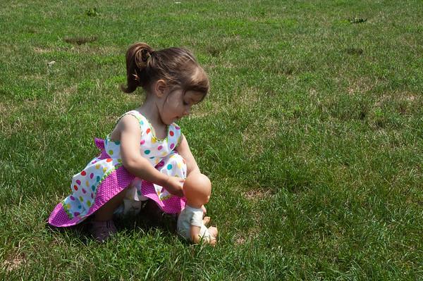 Elena & the Grass Fairies (Aug. 2011)