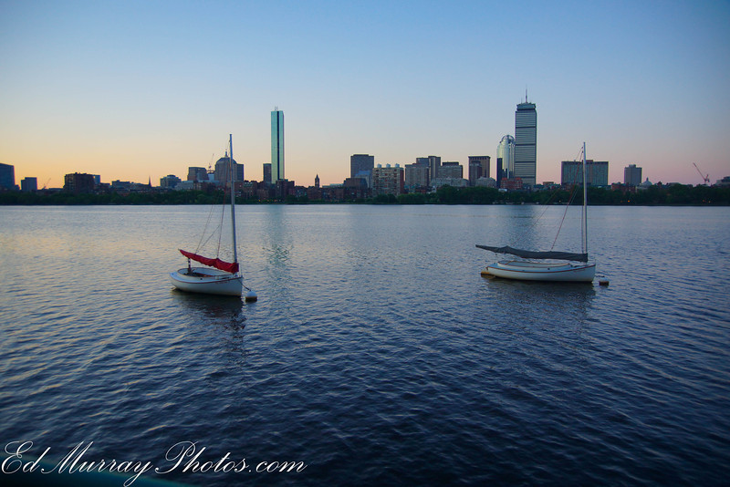 """Sunsire in Boston: Happy Monday everyone! Got up at 4:00 am to get some shots of Boston. I'll be posting these during the week. I got some pretty interesting captures and had one """"incident"""" that will explain with tomorrow's shot"""