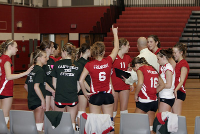 Girls Varsity Volleyball - 2006-2007 - 3/3/2007 Districts Newaygo