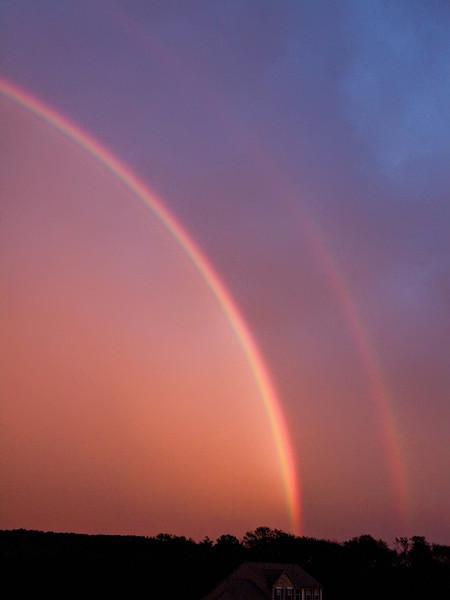 Rainbow of 10 Sept 2009