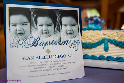 Sean Allelu's Baptism. The Reception
