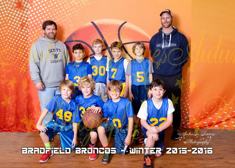 4B Bradfield Broncos - PCYMCA Basketball