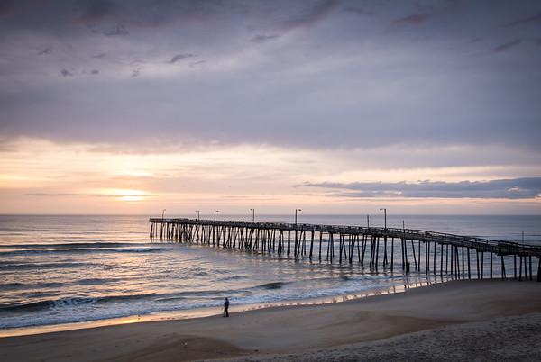 Nags Head Pier at Sunrise
