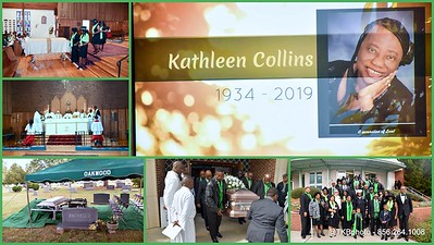 Homegoing Services - Mother Kathleen Ariel Liberty Collins