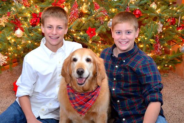 Boys & Abby Christmas 2012