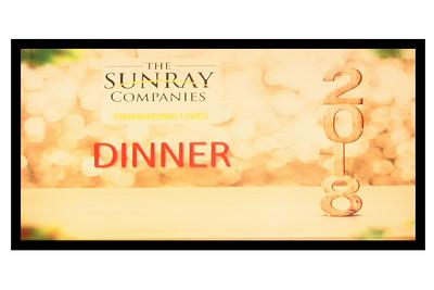 2018-12-03 SUNRAY Companies Dinner