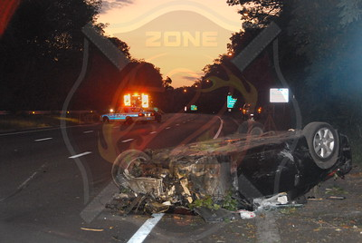 South Farmingdale F.D. Fatal MVA w/ Double Overturn and Ejection S.S. Pkwy. Between Exits 31-32 9/11/11