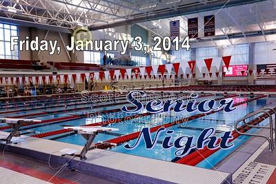2014 Senior Night Introductions (01-03-14)