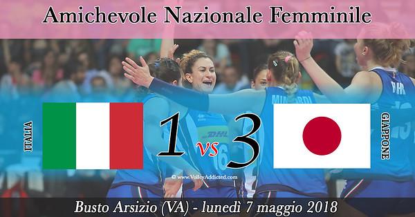 Italia - Giappone (Amichevole 07.05.2018)