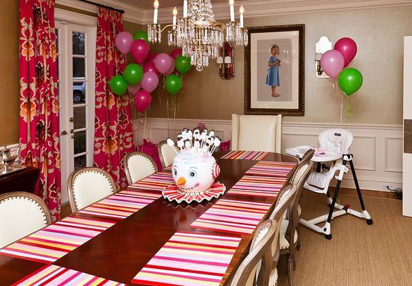 Caroline 1st Birthday