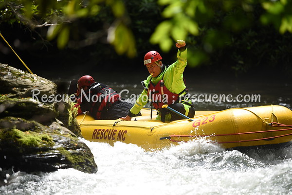 Valleytown Fire Dept. TR Water Rescue Series; July 2019