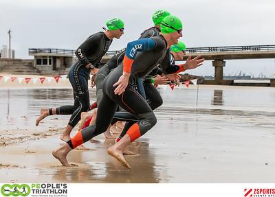 The 2020 PEople's Triathlon - Swim Start B