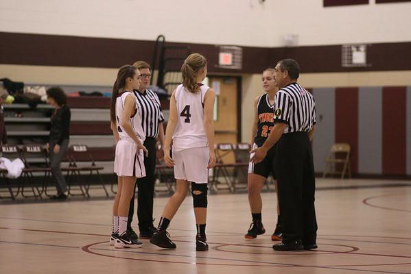 2012 MAMS Girls Basketball vs Thorne