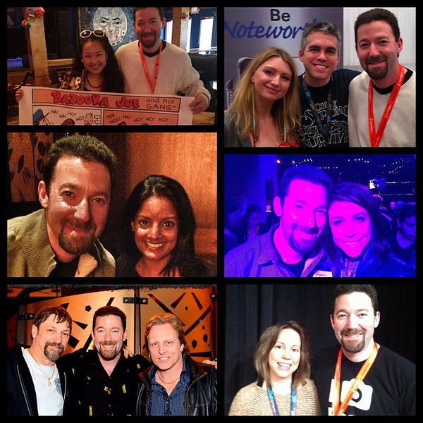 Today's #TBT are just a handful of the great memories I've been lucky to have at #sxsw over the past 6 years. On to lucky #7!