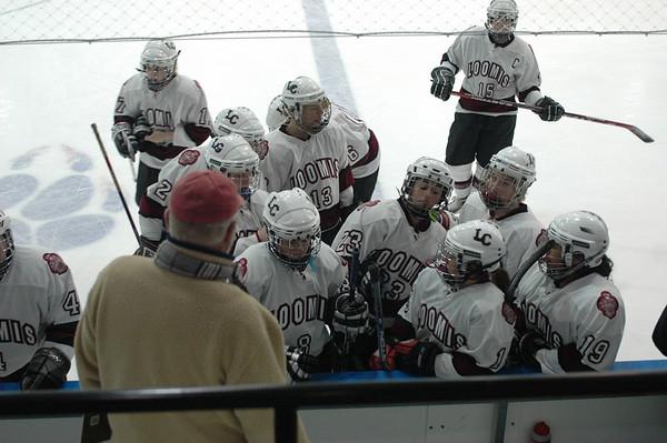 Loomis Varsity Ice Hockey vs. Hotchkiss 1/15/07