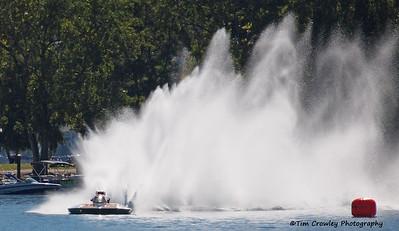 Manson Hydrofest 2014 Hydroplane Races