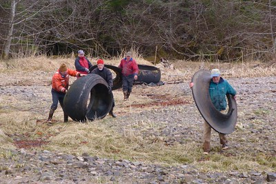 We Brought A Whole Crew To Clean This Up May 2013, Cynthia Meyer, Chichagof Island, Alaska