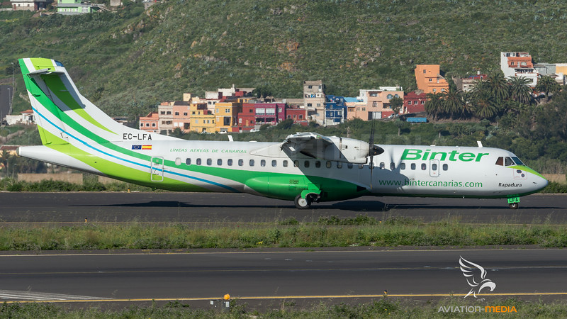 Binter Canarias / ATR 72-500 / EC-LFA