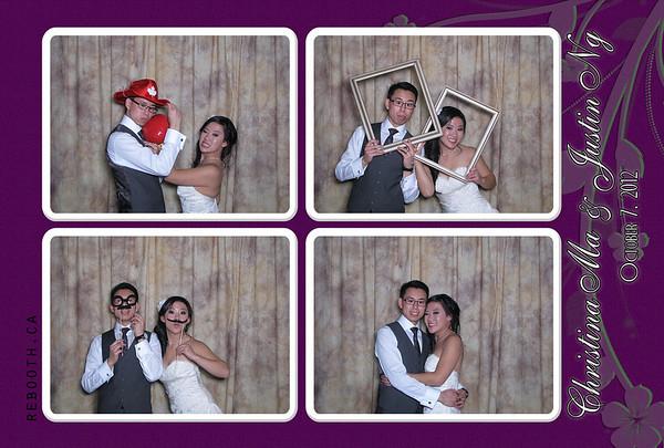 Christina and Justin Wedding