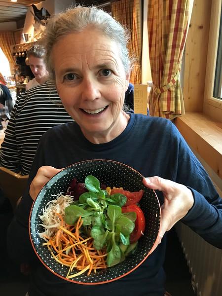 Hotel Roseg Gletscher salad