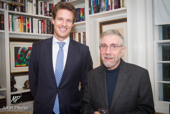 Trustee Dinner with Paul Krugman