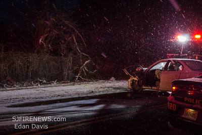02/01/2019, MVC with Entrapment, Millville City, Cumberland County NJ, Hance Bridge Rd and Wade Blvd.