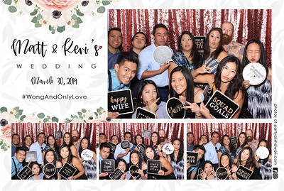 Matt & Keri Ann's Wedding (LED Dazzle Photo Booth)