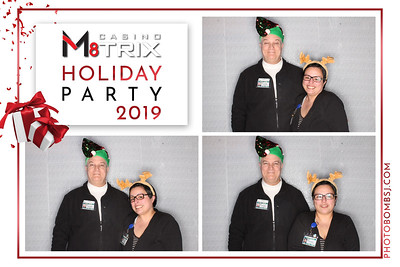 Casino M8trix Holiday Party
