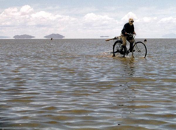 Flooded Salt Flats, Uyuni, Bolivia