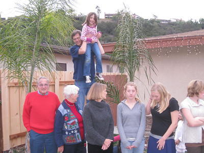 Sedlund Family San Diego Dec 2009
