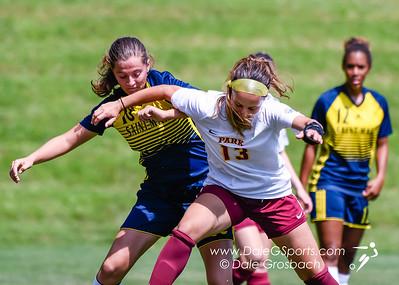 Park Univ. Women's Soccer vs. Univ. of St Mary 2019
