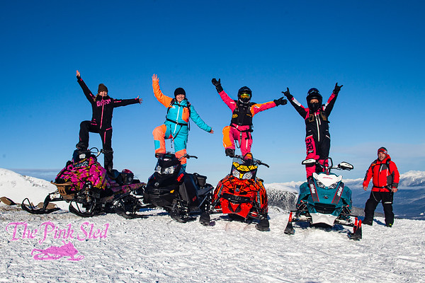 January 23 2021 - Bell Mountain - Alberta SheSleds Ladies Social Ride
