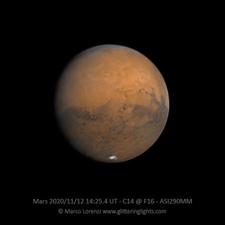 Mars on November 12, 2020