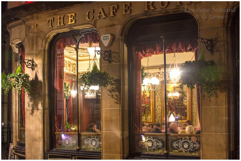 Cafe Royal, West Register Street, Edinburgh