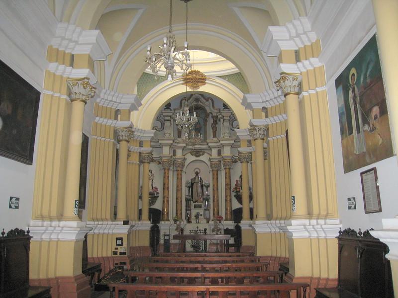 Convent de Santo Domingo, Chapel of St. Martin de Porres, Lima, Peru