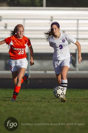 10-10-13 St Louis Park v Minneapolis Southwest Girls Soccer Sectionals