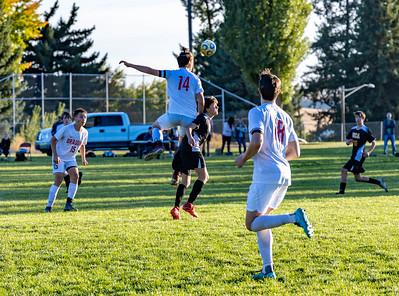 US Boys Soccer at UCA 9-21-21