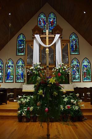Easter 2014 Sanctuary Decorations