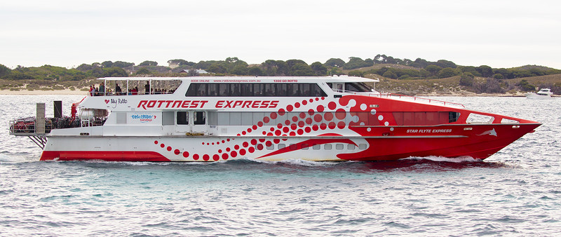 Rottnest Express ferry.